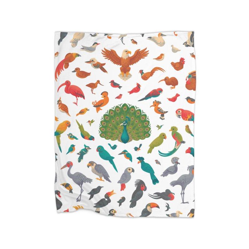 Aerial Spectrum : Pattern Home Fleece Blanket Blanket by Waynem