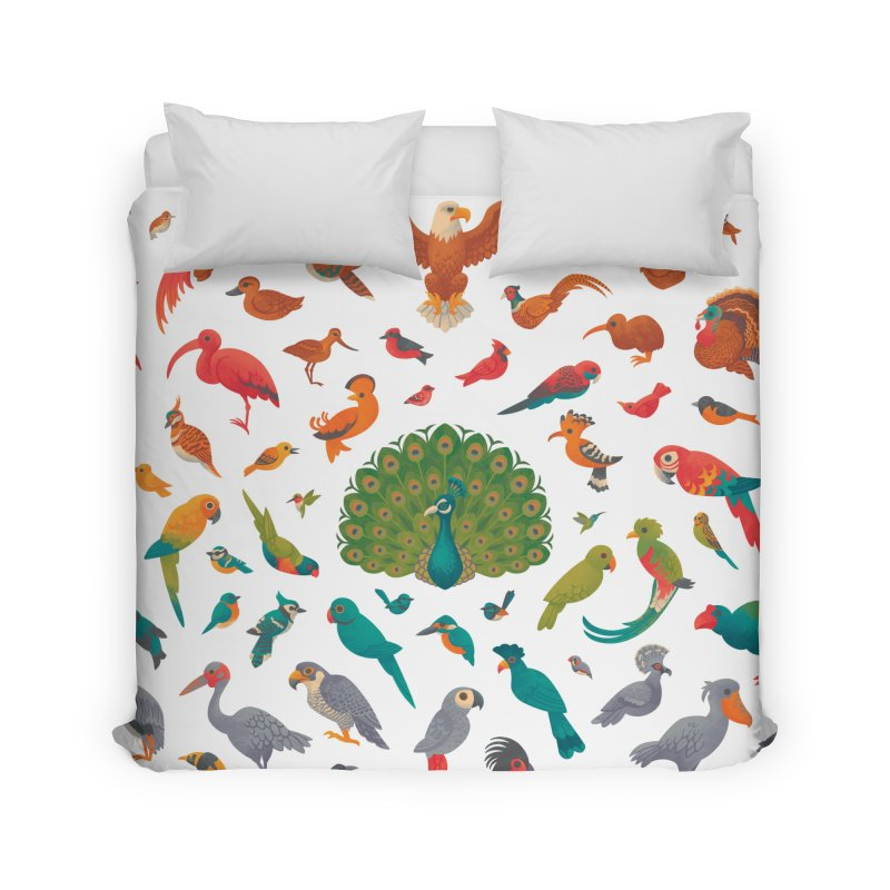 Aerial Spectrum : Pattern Home Duvet by Waynem