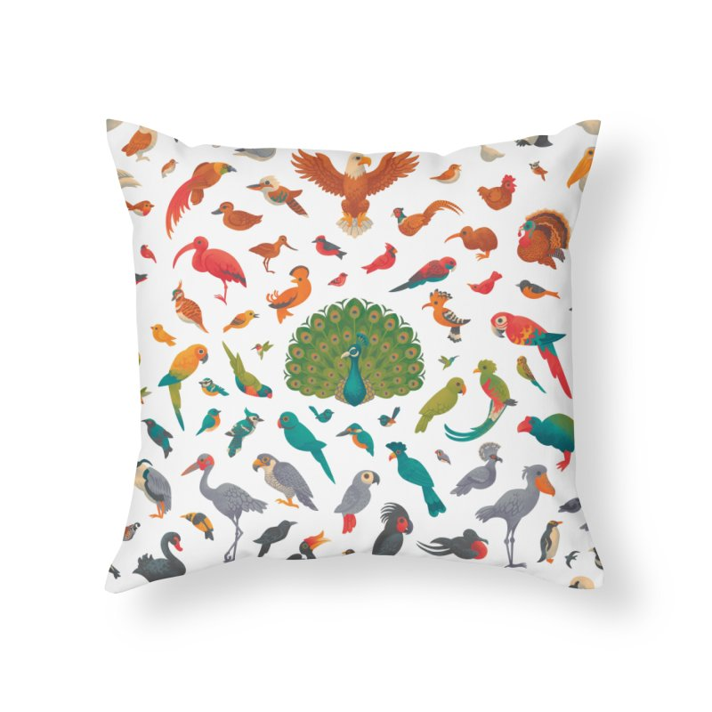 Aerial Spectrum : Pattern Home Throw Pillow by Waynem