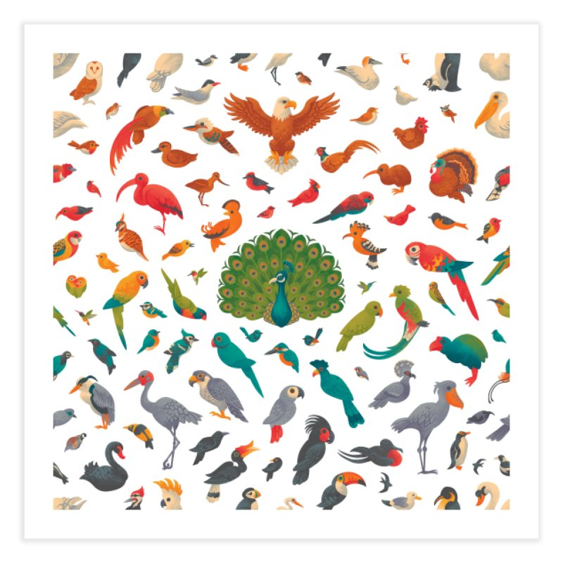 Aerial Spectrum : Pattern Home Fine Art Print by Waynem