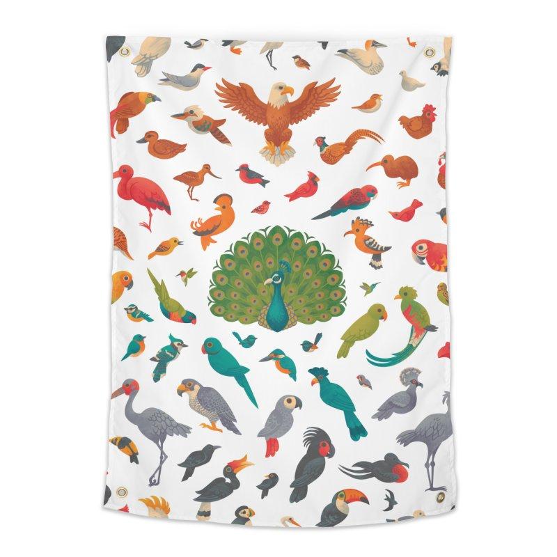 Aerial Spectrum : Pattern Home Tapestry by Waynem