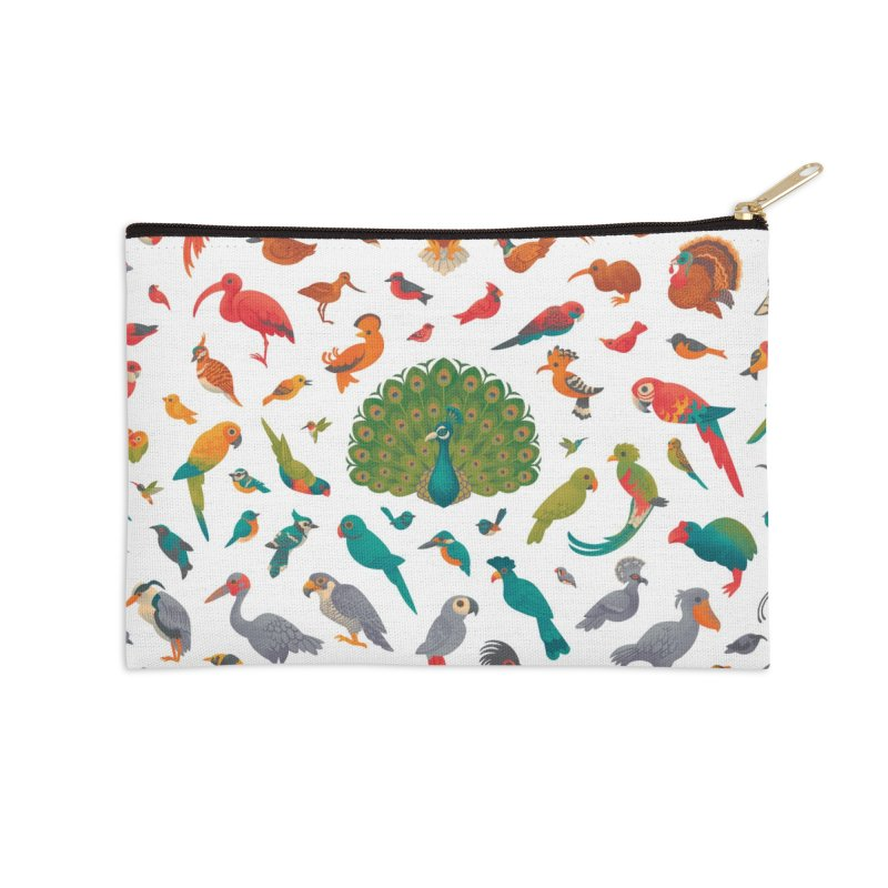 Aerial Spectrum : Pattern Accessories Zip Pouch by Waynem