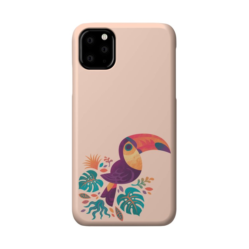 Tropical Toucan Accessories Phone Case by Waynem