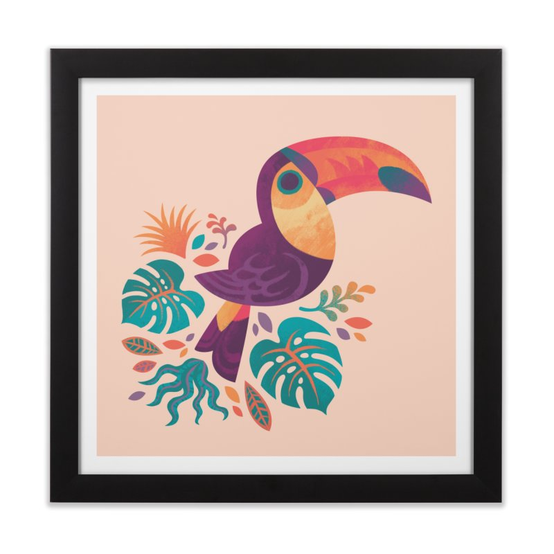 Tropical Toucan Home Framed Fine Art Print by Waynem
