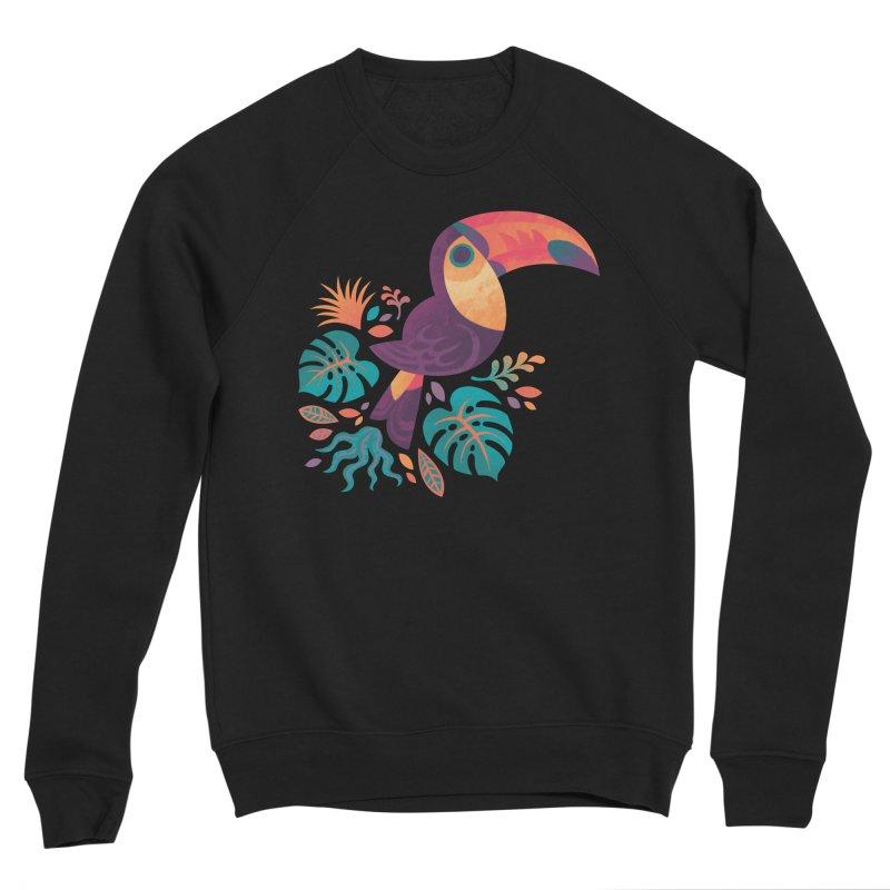 Tropical Toucan Men's Sponge Fleece Sweatshirt by Waynem