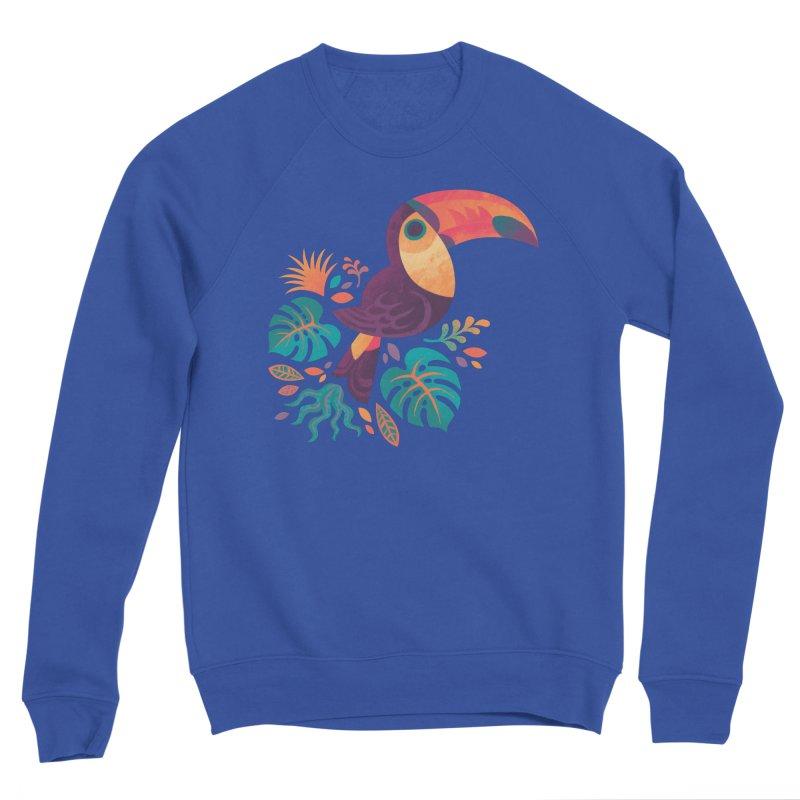 Tropical Toucan Women's Sponge Fleece Sweatshirt by Waynem