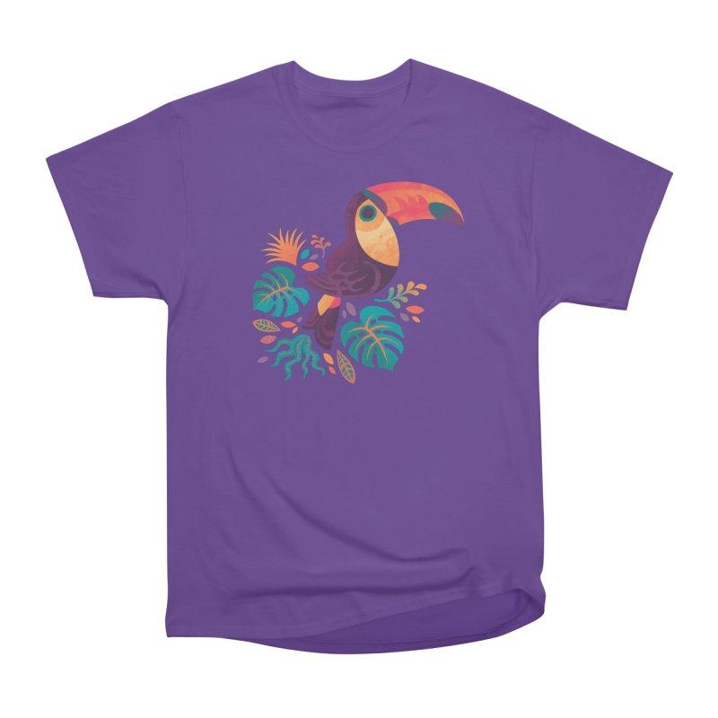 Tropical Toucan Women's Heavyweight Unisex T-Shirt by Waynem