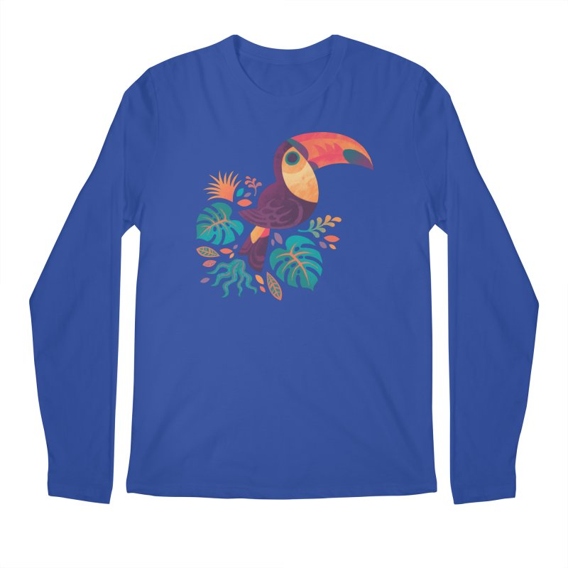 Tropical Toucan Men's Regular Longsleeve T-Shirt by Waynem