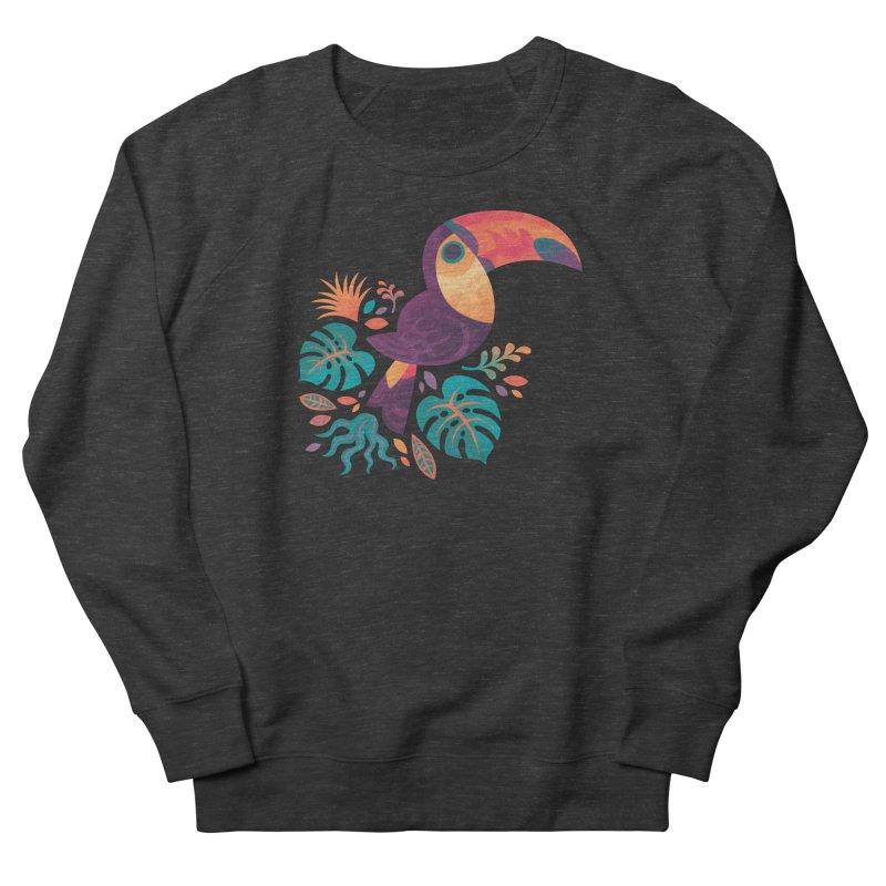 Tropical Toucan Women's French Terry Sweatshirt by Waynem