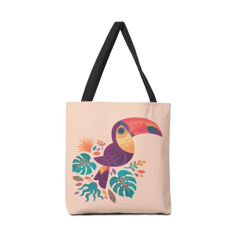 Tropical Toucan Accessories Tote Bag Bag by Waynem