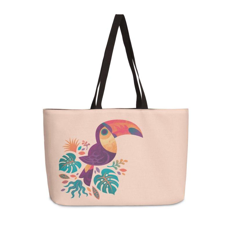 Tropical Toucan Accessories Weekender Bag Bag by Waynem