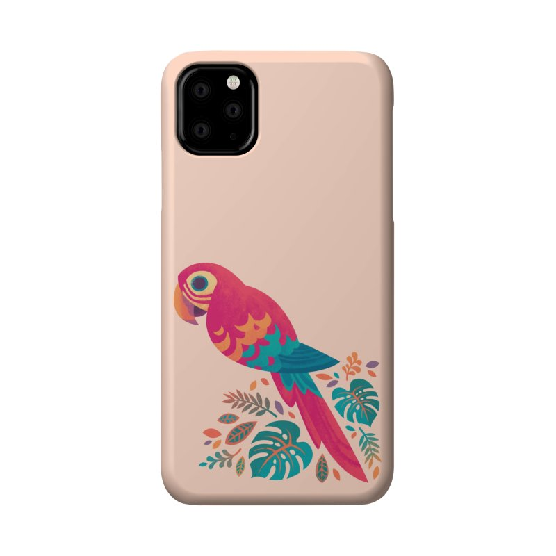 Scarlet Macaw Accessories Phone Case by Waynem