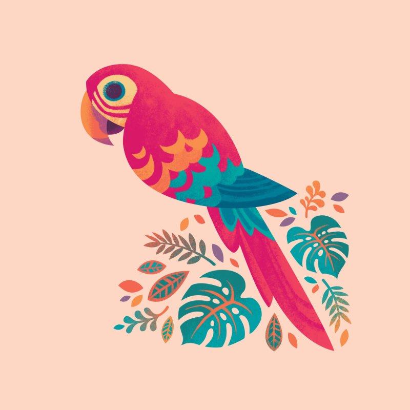 Scarlet Macaw by Waynem