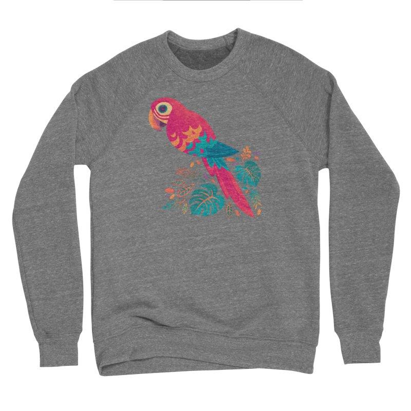 Scarlet Macaw Women's Sponge Fleece Sweatshirt by Waynem