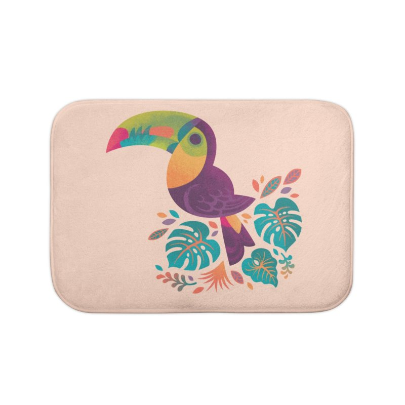 Tropical Toucan 2 Home Bath Mat by Waynem