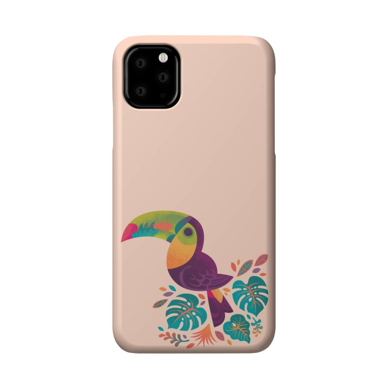 Tropical Toucan 2 Accessories Phone Case by Waynem