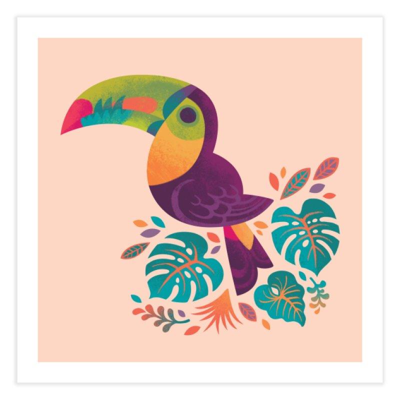 Tropical Toucan 2 Home Fine Art Print by Waynem