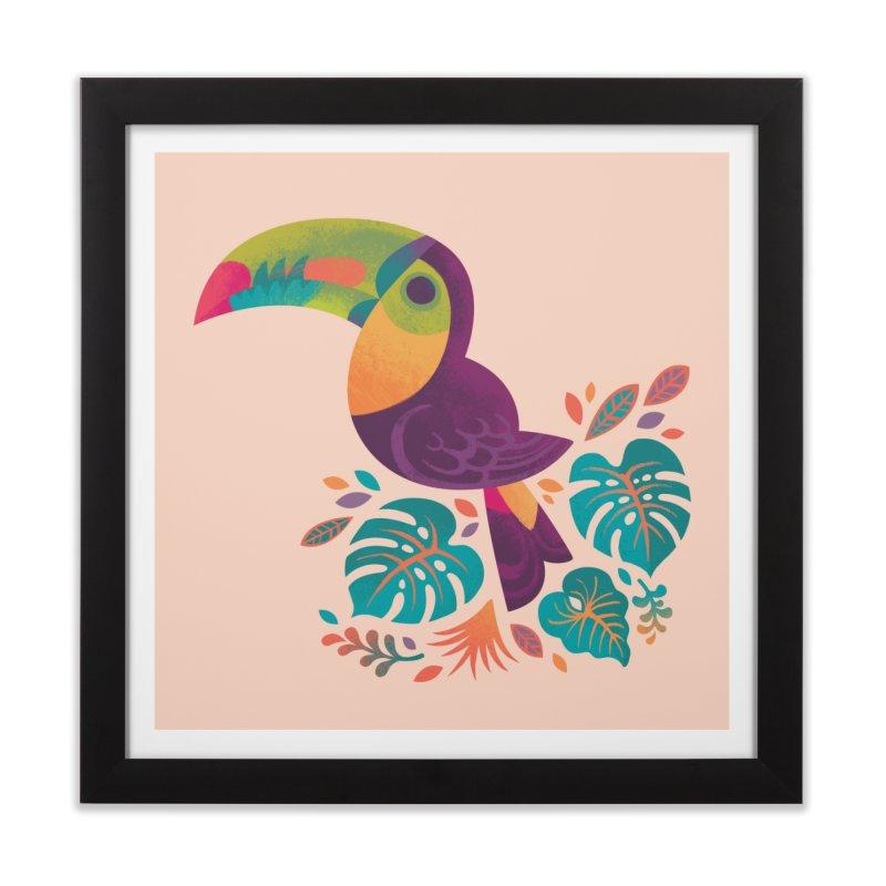 Tropical Toucan 2 Home Framed Fine Art Print by Waynem