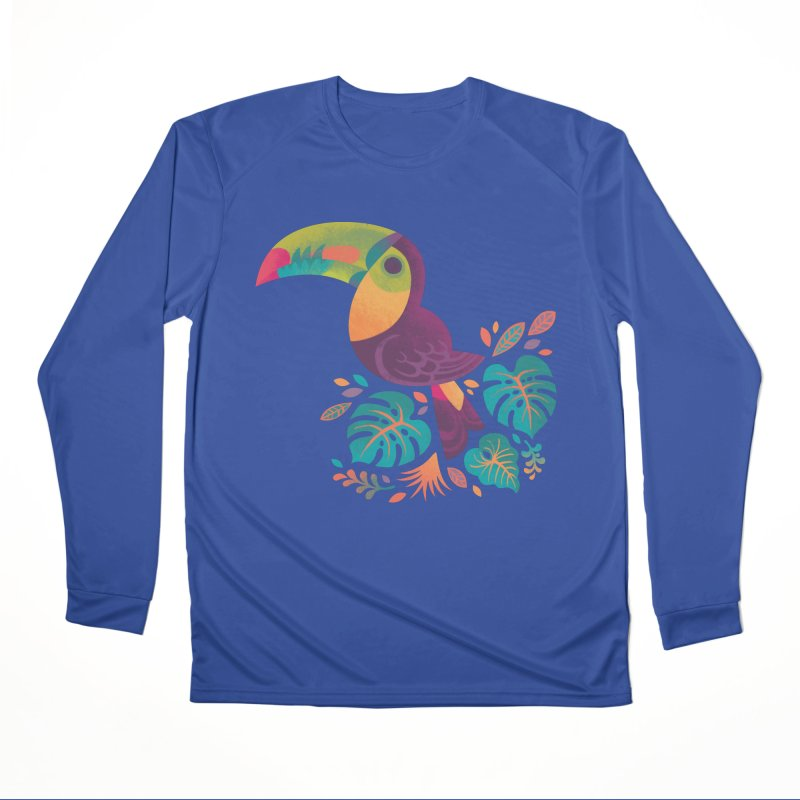 Tropical Toucan 2 Men's Performance Longsleeve T-Shirt by Waynem