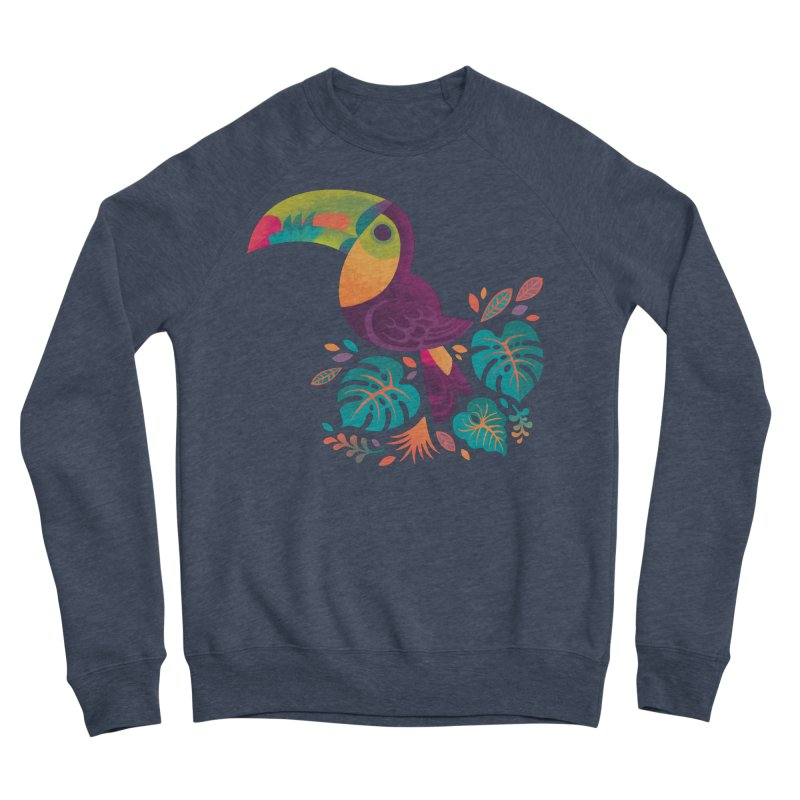 Tropical Toucan 2 Women's Sponge Fleece Sweatshirt by Waynem