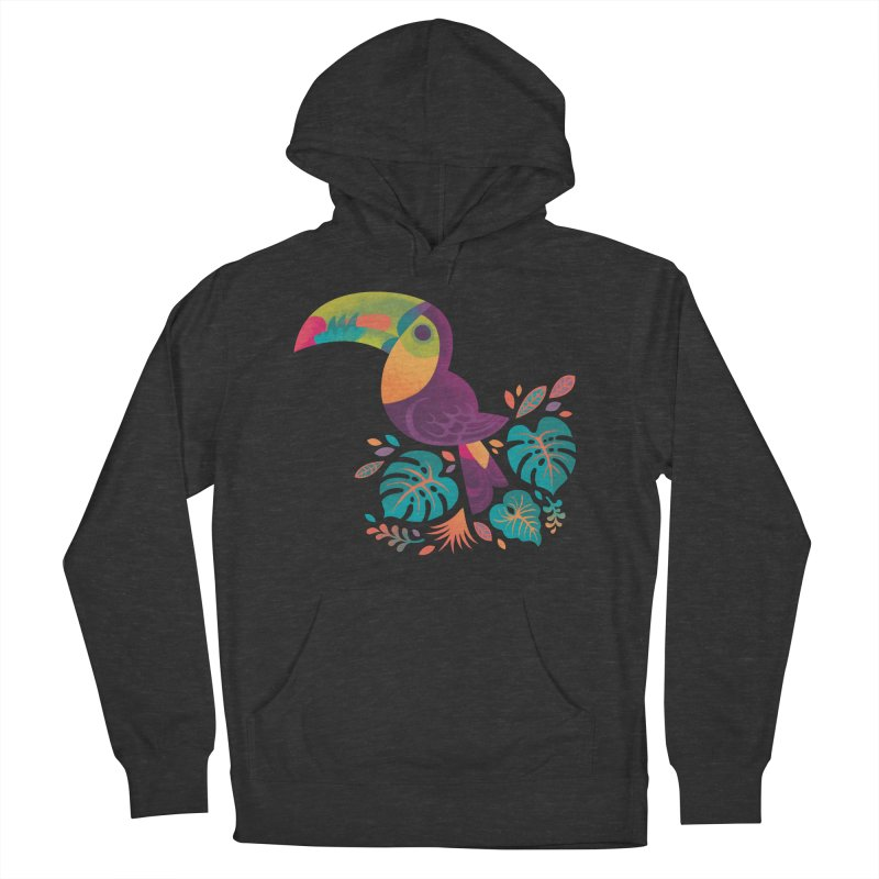 Tropical Toucan 2 Women's French Terry Pullover Hoody by Waynem