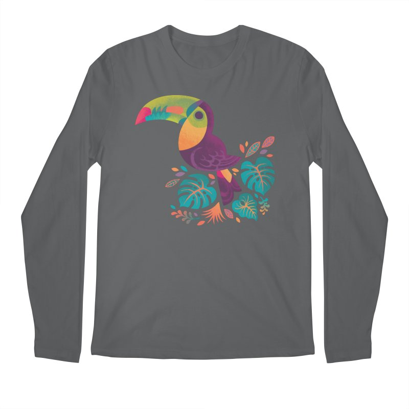 Tropical Toucan 2 Men's Regular Longsleeve T-Shirt by Waynem