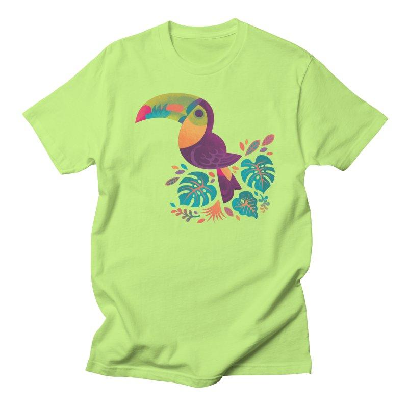 Tropical Toucan 2 Women's Regular Unisex T-Shirt by Waynem