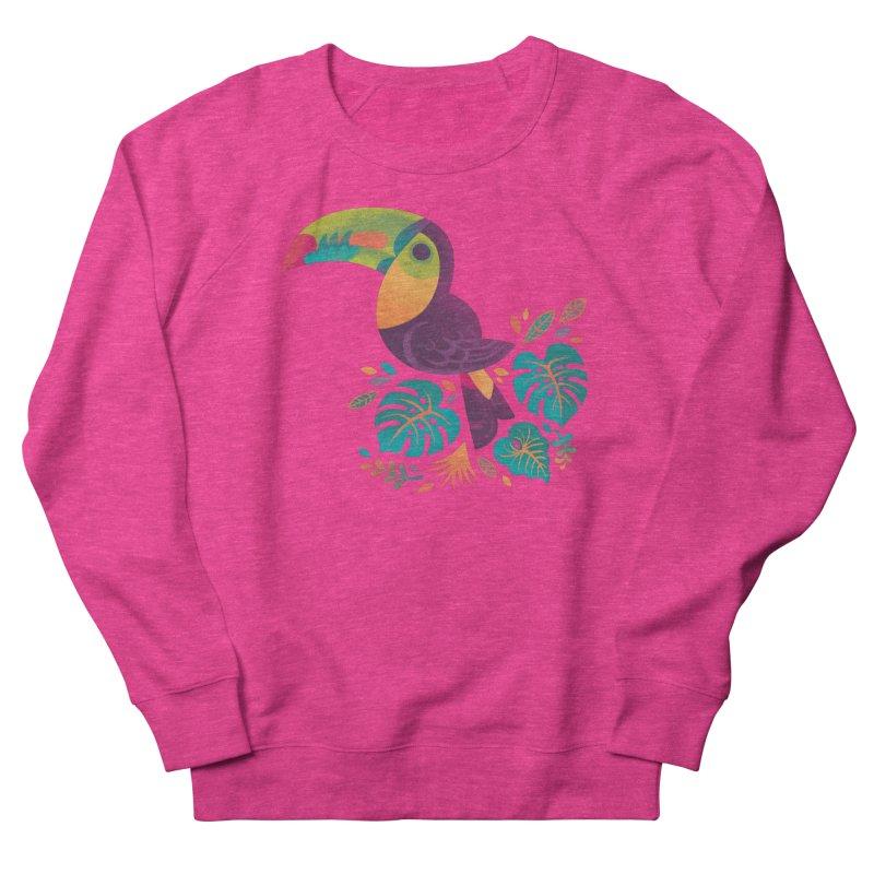 Tropical Toucan 2 Women's French Terry Sweatshirt by Waynem