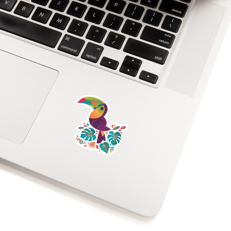 Tropical Toucan 2 Accessories Sticker by Waynem