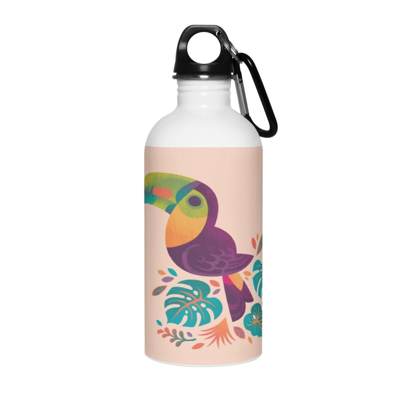 Tropical Toucan 2 Accessories Water Bottle by Waynem