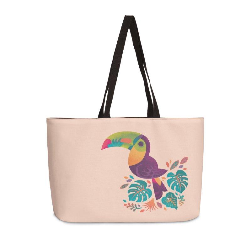 Tropical Toucan 2 Accessories Weekender Bag Bag by Waynem