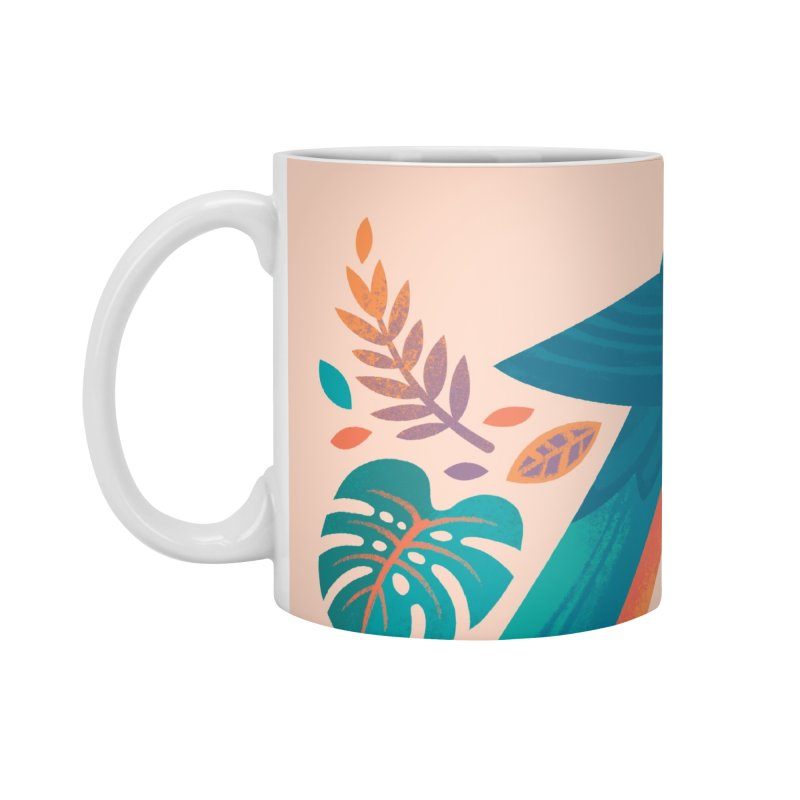 Blue and Gold Macaw Accessories Standard Mug by Waynem