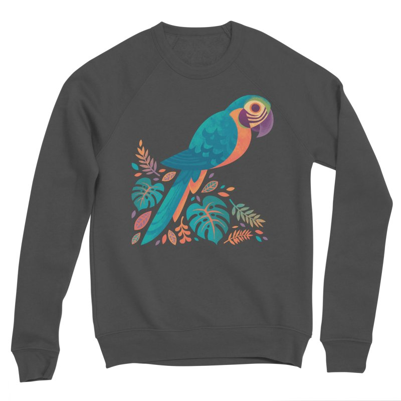 Blue and Gold Macaw Women's Sponge Fleece Sweatshirt by Waynem