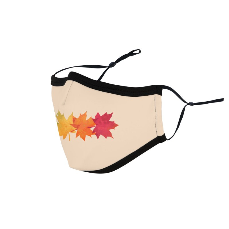 Falling Maple Accessories Face Mask by Waynem