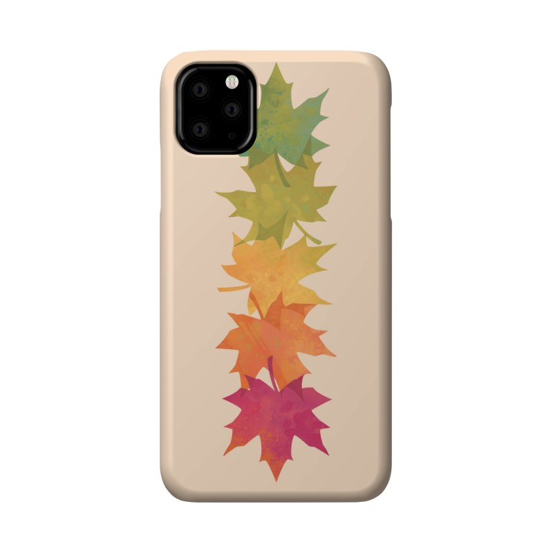 Falling Maple Accessories Phone Case by Waynem