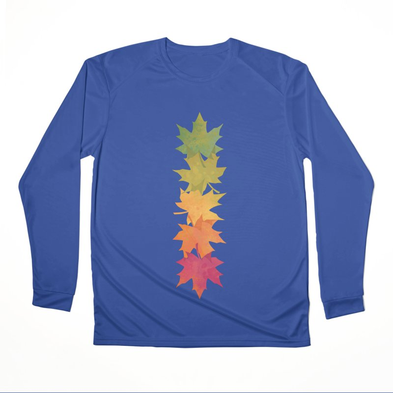 Falling Maple Men's Performance Longsleeve T-Shirt by Waynem