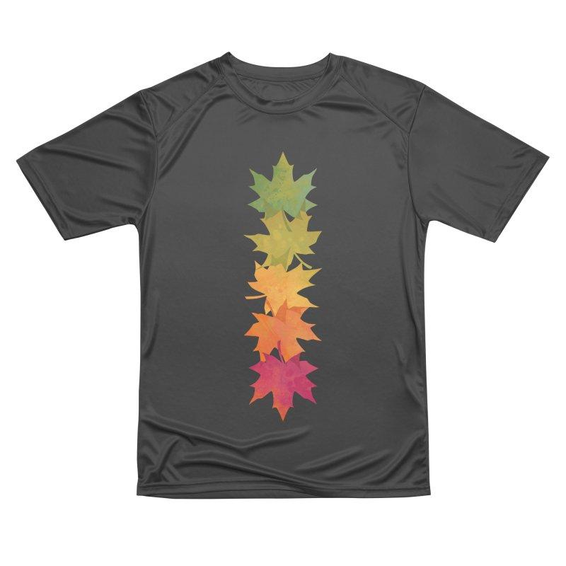 Falling Maple Women's Performance Unisex T-Shirt by Waynem