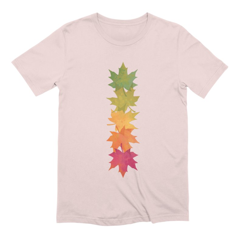 Falling Maple Men's Extra Soft T-Shirt by Waynem