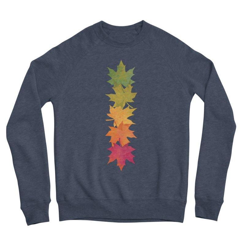 Falling Maple Men's Sponge Fleece Sweatshirt by Waynem