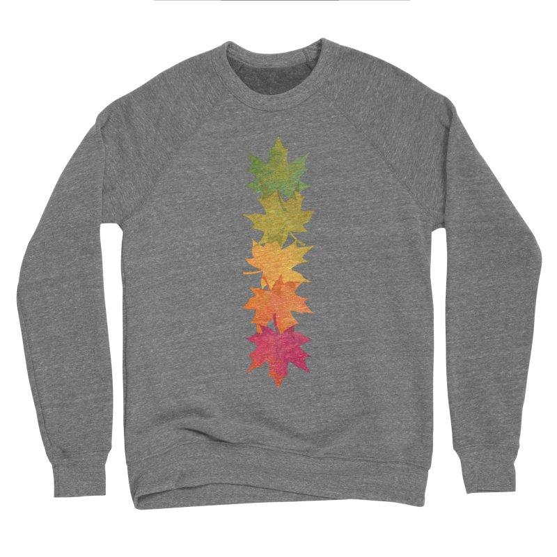Falling Maple Women's Sponge Fleece Sweatshirt by Waynem