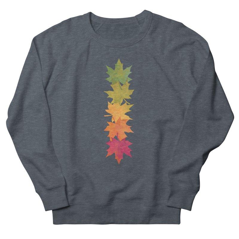 Falling Maple Women's French Terry Sweatshirt by Waynem