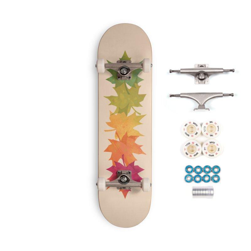 Falling Maple Accessories Complete - Premium Skateboard by Waynem
