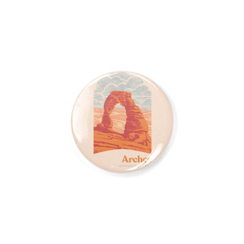 Arches National Park Accessories Button by Waynem
