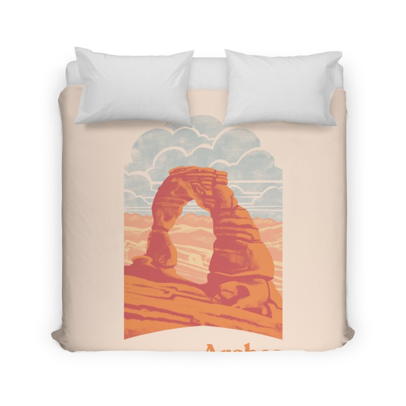 Arches National Park Home Duvet by Waynem