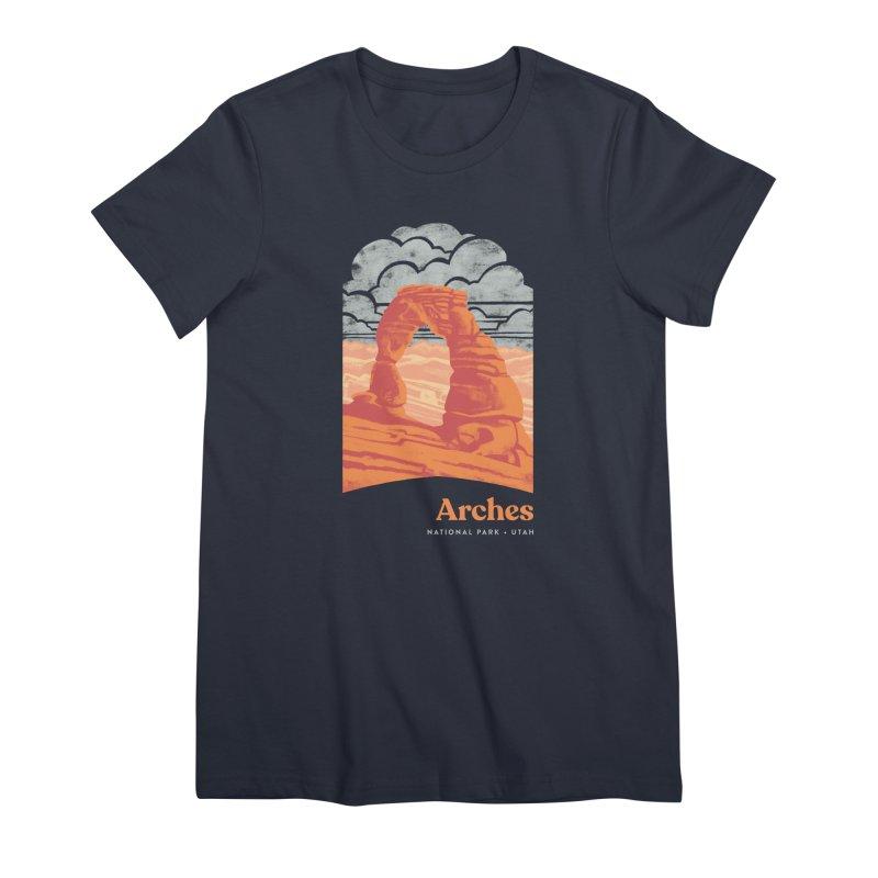 Arches National Park Women's Premium T-Shirt by Waynem