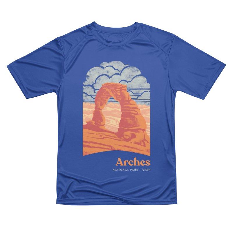 Arches National Park Women's Performance Unisex T-Shirt by Waynem