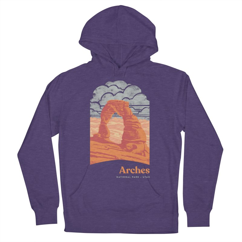 Arches National Park Women's French Terry Pullover Hoody by Waynem