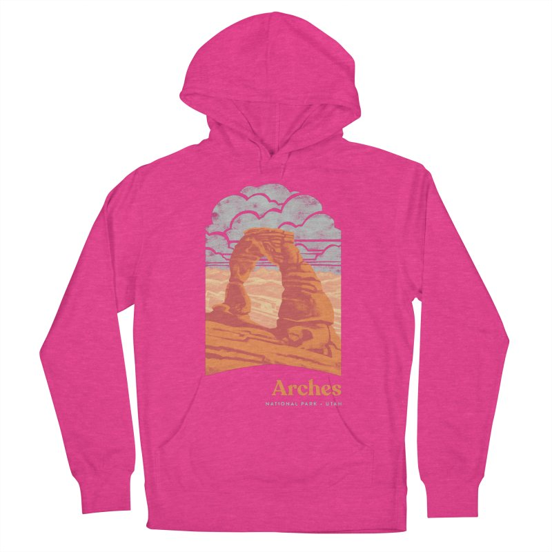 Arches National Park Men's French Terry Pullover Hoody by Waynem