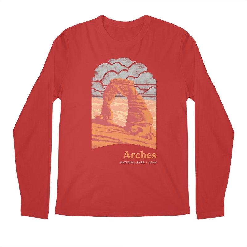 Arches National Park Men's Regular Longsleeve T-Shirt by Waynem