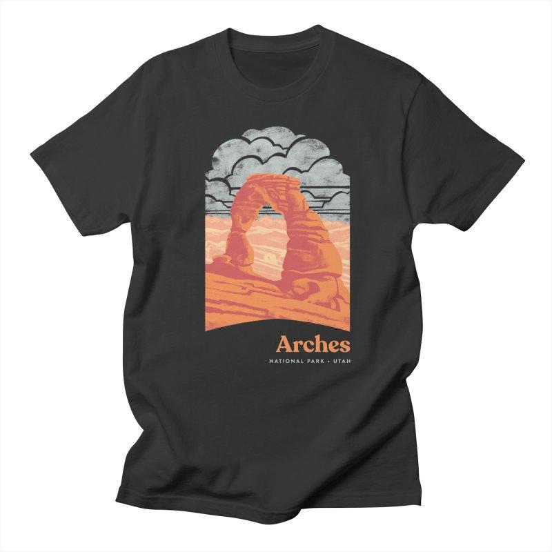 Arches National Park Men's Regular T-Shirt by Waynem